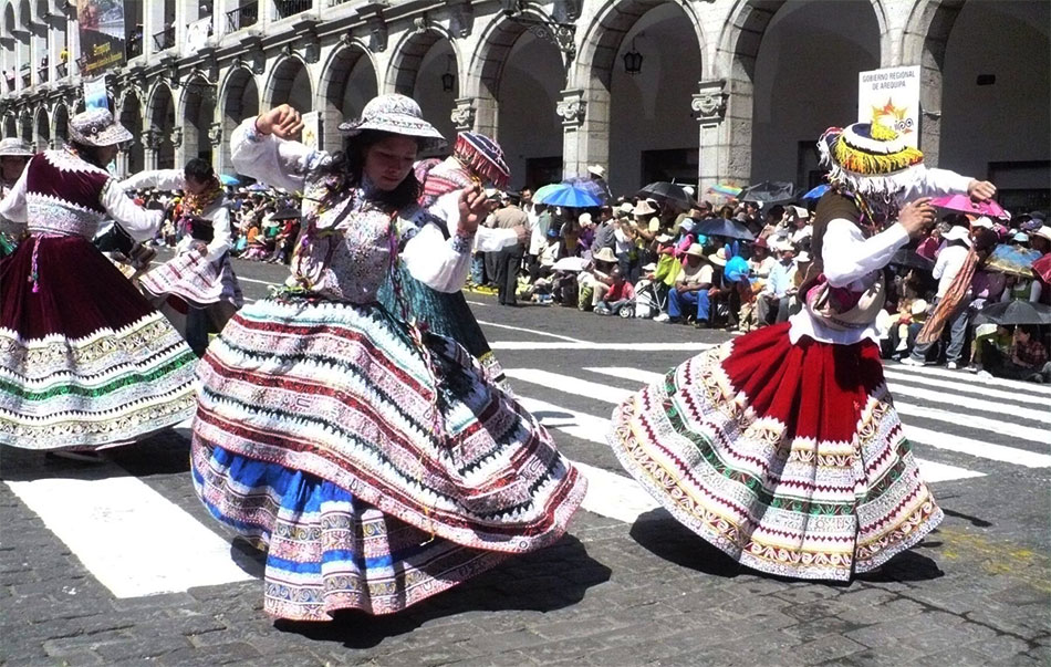 Arequipa Carnival, One of The Most Excited Experiences