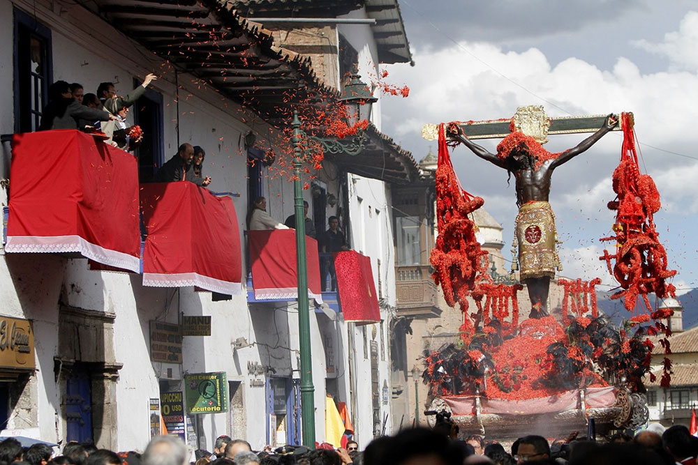 Holy Week in Cusco: The Lord of Earthquakes