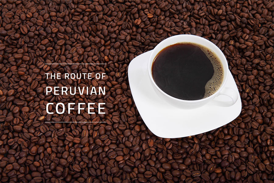 The route of peruvian coffee