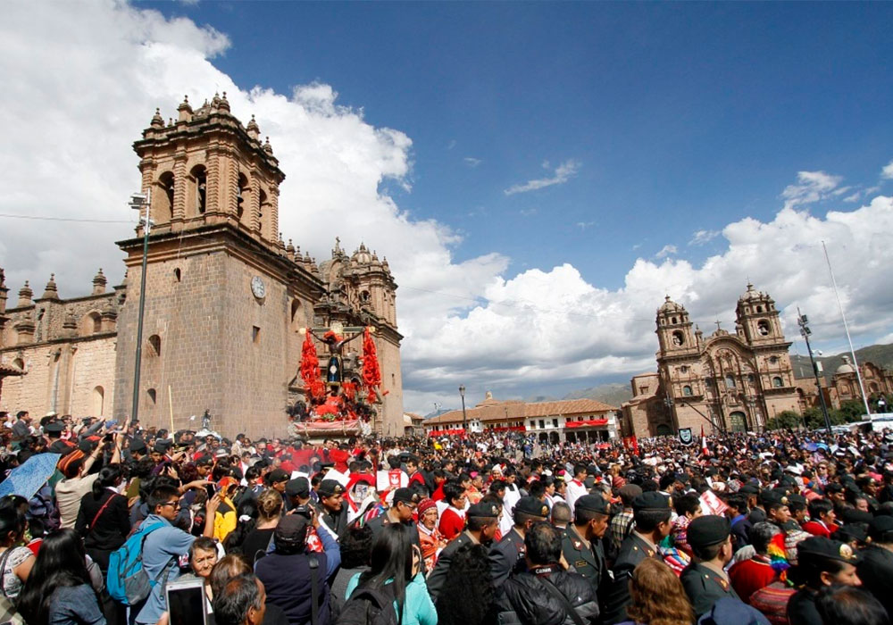 Procession in Cusco