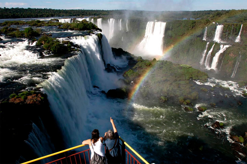 Place for View the Iguazu Falls