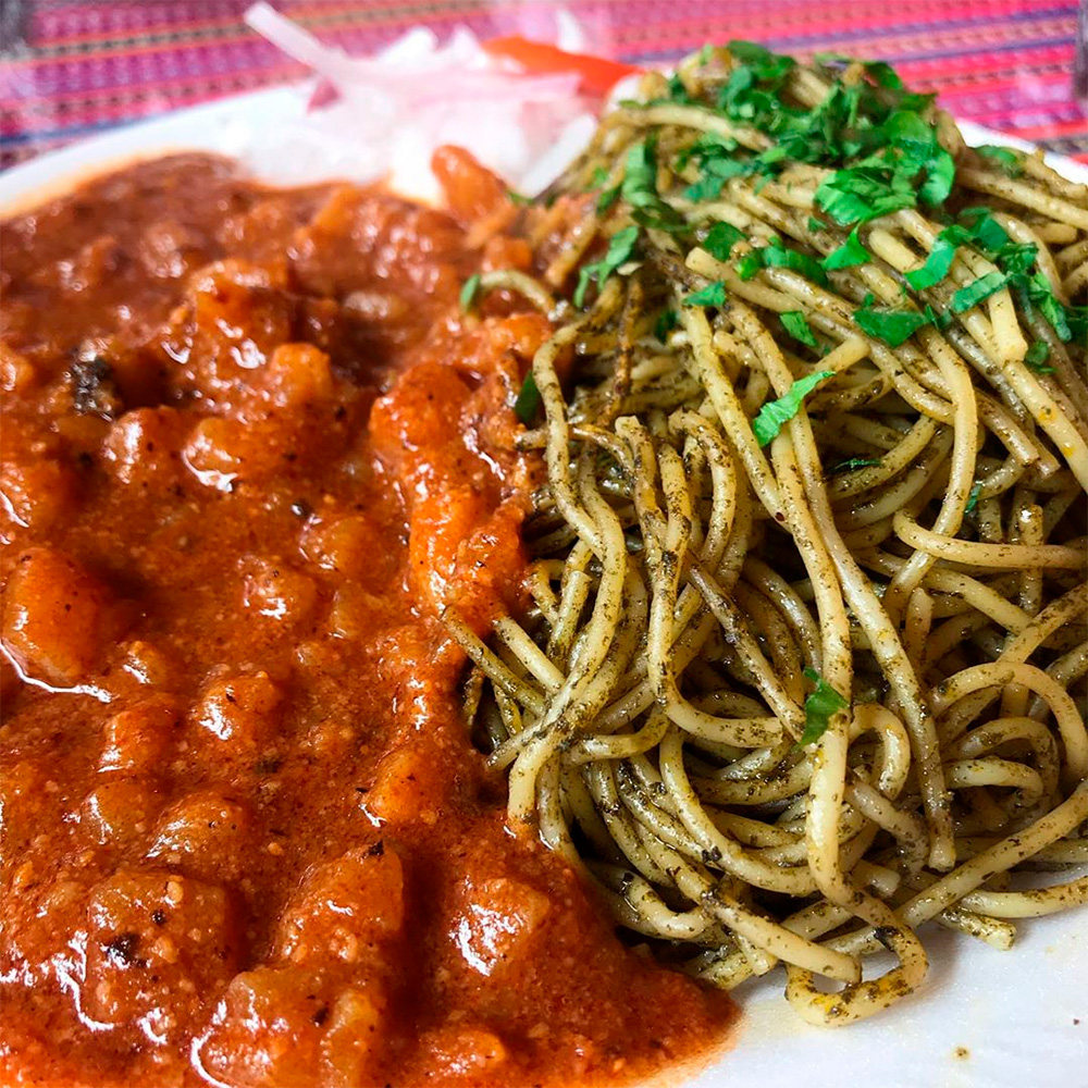 Gastronomy: Sopa Seca